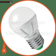 LED лампа TURBO G45 5W E27 3000K Eurolamp