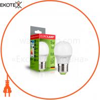 """Светодиодная EUROLAMP LED Лампа """"Шар"""" ЕURO G45 5W E27 4000K"""