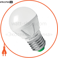 EUROLAMP LED Лампа TURBO G45 5W E27 4000K (50)