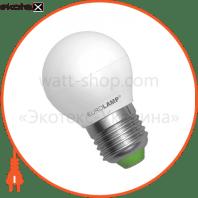 LED лампа G45 Globe 3W E27 4100K (100) Eurolamp