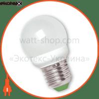 LED лампа G45 2,5W E27 4100К  акція 2шт. мультипак Eurolamp