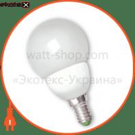 EUROLAMP LED Лампа G45 Globe 4.6W E14 4100K (50)