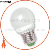 EUROLAMP LED Лампа G45 Globe 4.6W E27 2700K (50)
