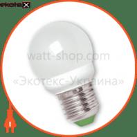 LED лампа G45 4,6W E27 4100К Eurolamp