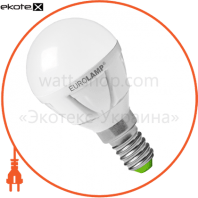 EUROLAMP LED Лампа TURBO G45 6,5W E14 3000K (50)