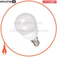 LED лампа G45 3W E14 4100K Eurolamp