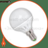 EUROLAMP LED Лампа G50 Globe 6W E14 4100K (50)