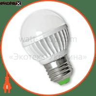eurolamp led лампа g50 globe white 5w e27 4100k (30)