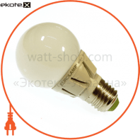 EUROLAMP LED Лампа TURBO G60 6,5W E27 3000K (50)