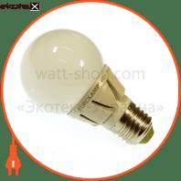 LED лампа TURBO G60 6,5W E27 3000K Eurolamp