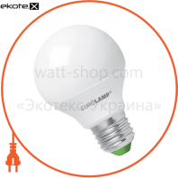 LED лампа G65 8W E27 3000K Eurolamp