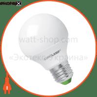 LED лампа G65 8W E27 4000K Eurolamp