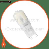 LED лампа G9 3W 4000K Eurolamp