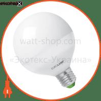 LED лампа G95 15W E27 3000K Eurolamp