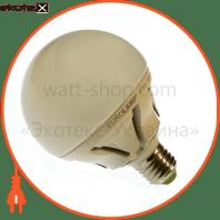 EUROLAMP LED Лампа TURBO Globe G95 15W E27 4000K (20)