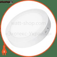 EUROLAMP LED Світильник круглий накладний Downlight NEW 18W 4000K
