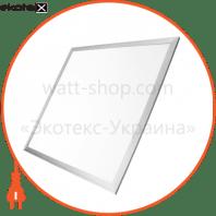 eurolamp led світильник 60*60 (панель) срібна рамка 40w 4100k (5) светодиодные светильники eurolamp Eurolamp LED-Panel-40/41silver