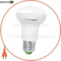LED лампа R63 9W E27 3000K Eurolamp