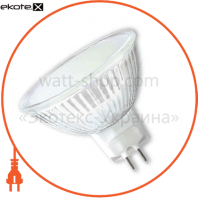 LED лампа MR16 3W GU5.3 2700K SMD3528 frosted cover Eurolamp