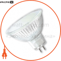 LED лампа MR16 4W GU5.3 4100K SMD5050 frosted cover Eurolamp