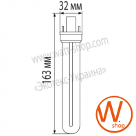 pls 9w 4100k  g23 энергосберегающие лампы eurolamp Eurolamp LN-09234