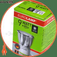 tochka mr16 9w 2700k gu 5.3 скло  энергосберегающие лампы eurolamp Eurolamp