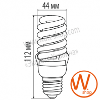 LN-20272 Eurolamp энергосберегающие лампы eurolamp t2 spiral 20w 2700k e27