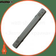 Люминесцентный светильник 1х18 с Эл. магнит IP65