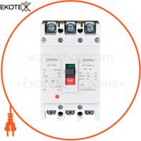 Автоматический выключатель ENERGIO M1-125L 3P 80A 35кА