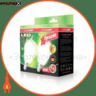 LED лампа G45 2,5W E14 4100К  акція 2шт. мультипак Eurolamp