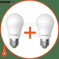 """Промо-набор EUROLAMP LED Лампа A50 7W E27 3000K акция """"1+1"""""""