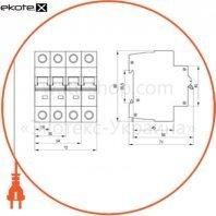 Автоматический выключатель ВА47-60 2Р 2А 6кА С IEK