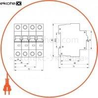 Автоматический выключатель ВА47-60 2Р 16А 6кА B IEK