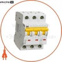 Автоматический выключатель ВА47-60 3Р 2А 6кА С IEK