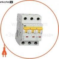 Автоматический выключатель ВА47-60 3Р 40А 6кА B IEK