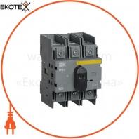 Выключатель-разъединитель модульный ВРМ-2 3P 63А IEK