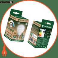 Лампа светодиодная ENERLIGHT P45 7Вт 4100K E27