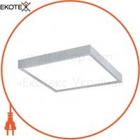 Светильник светодиодный Finestra LED IP44 10 W 3000K MPRM 307 mm x 307 mm 990lm Grey