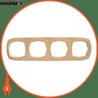 Рамка четырехместная Pм-4-Ov-I