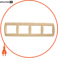 Рамка четырехместная Pм-4-Sq-I