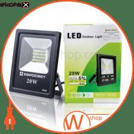 прожектор evro light es-20-01 6400k 1100lm smd es-20-01 6400k светодиодные светильники евросвет Евросвет 39080