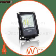 Прожектор світлодіодний ЕВРОСВЕТ 10Вт 6400К EV-10-01 700Лм SMD