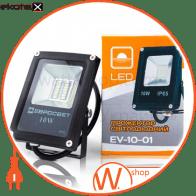 прожектор evro light ev-10-01 6400k 800lm smd ev-10-01 6400k светодиодные светильники евросвет Евросвет 38967
