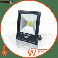 Прожектор світлодіодний ЕВРОСВЕТ 50Вт 6400К EV-50-01 STAND 4000Лм SMD