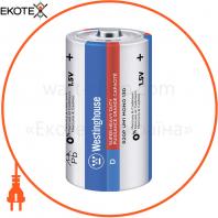 Солевая батарейка Westinghouse Super Heavy Duty D / R20 2шт / уп blister
