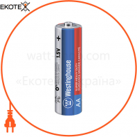 Солевая батарейка Westinghouse Super Heavy Duty AA / R6 4шт / уп blister