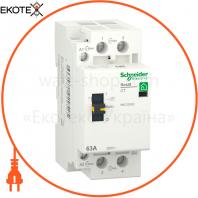 Контактор RESI9 1P + N 63A 2NO ~ 230В / 50Гц