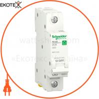 Автоматический выключатель RESI9 6kA 1P 63A C