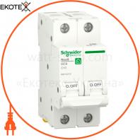 Автоматический выключатель RESI9 6kA 2P 10A C