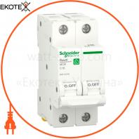 Автоматический выключатель RESI9 6kA 2P 16A C